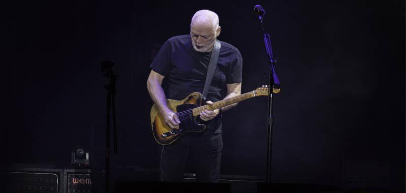 David Gilmour cifra pazzesca per le sue chitarre